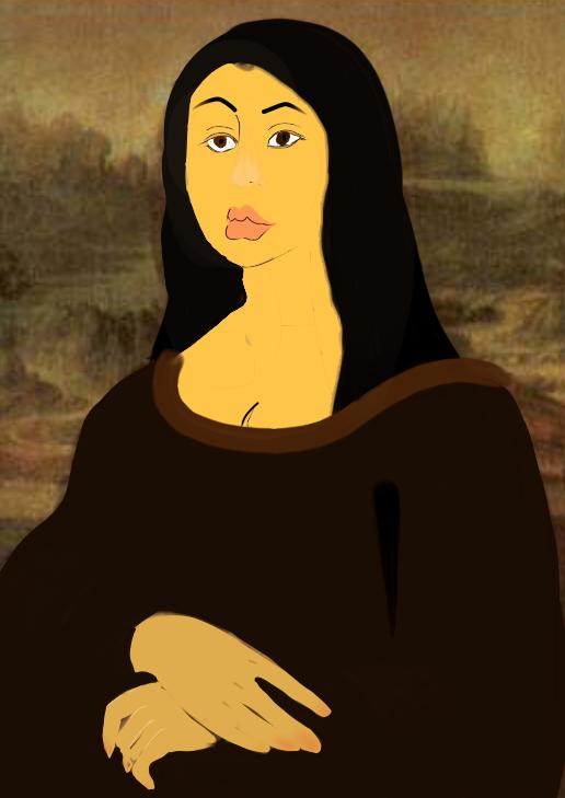 蒙娜丽莎 Illust of 张 MasterpieceFanart medibangpaint