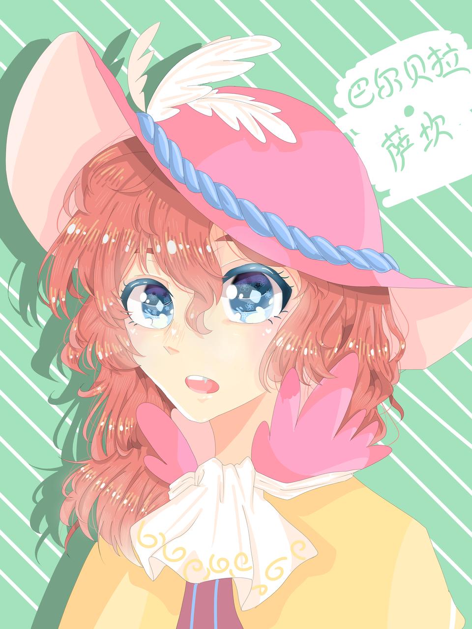 巴尔贝拉·萨坎 Illust of Nanako chan medibangpaint 螺旋圆舞曲 同人