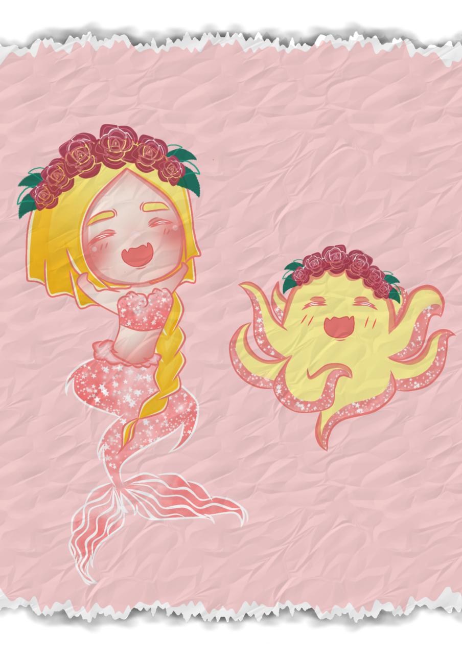Mermaid-Taco  Illust of Missleil General_Election_Meditaco MediBang_General_Election mermaid original animegirl medibangpaint meditaco