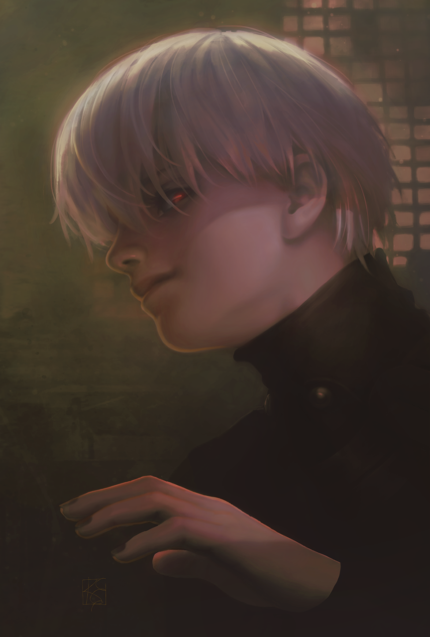 """Kaneki Ken of """"Tokyo Ghoul"""""""