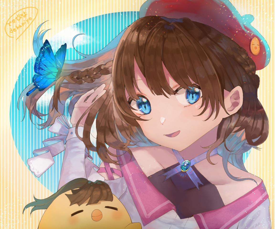 dekapiyo Illust of でかぴよ kawaii girl oc