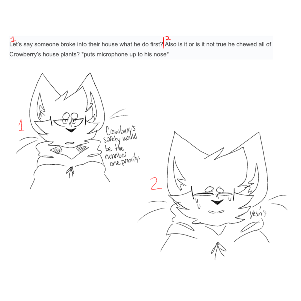 Ask 6 and 7 Illust of Night ¯\_(ツ)_/¯ Q&A