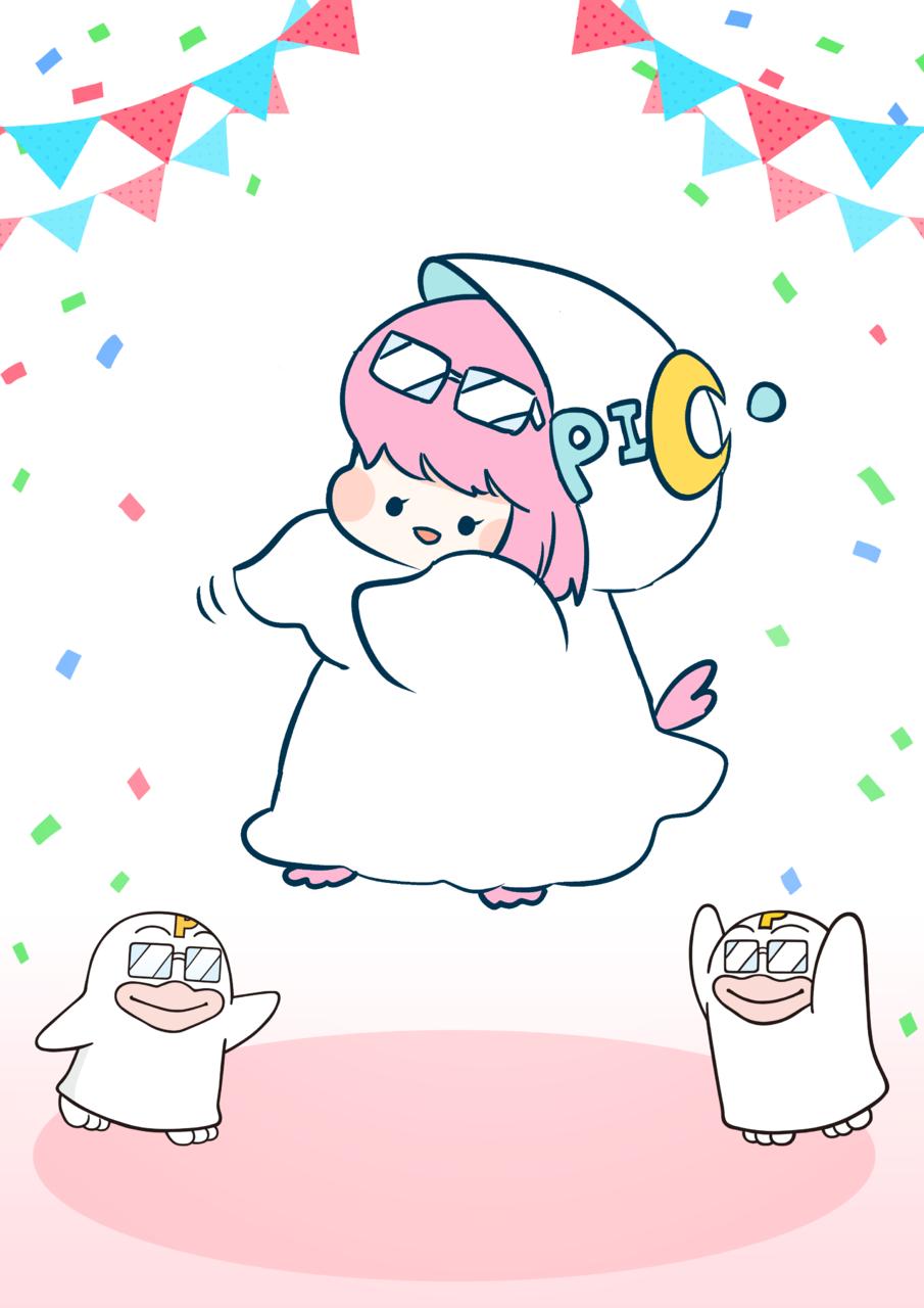 PICOQガールフレンド Illust of 553 PICO公式キャラクターPICOQガールフレンド大募集!!コンテスト