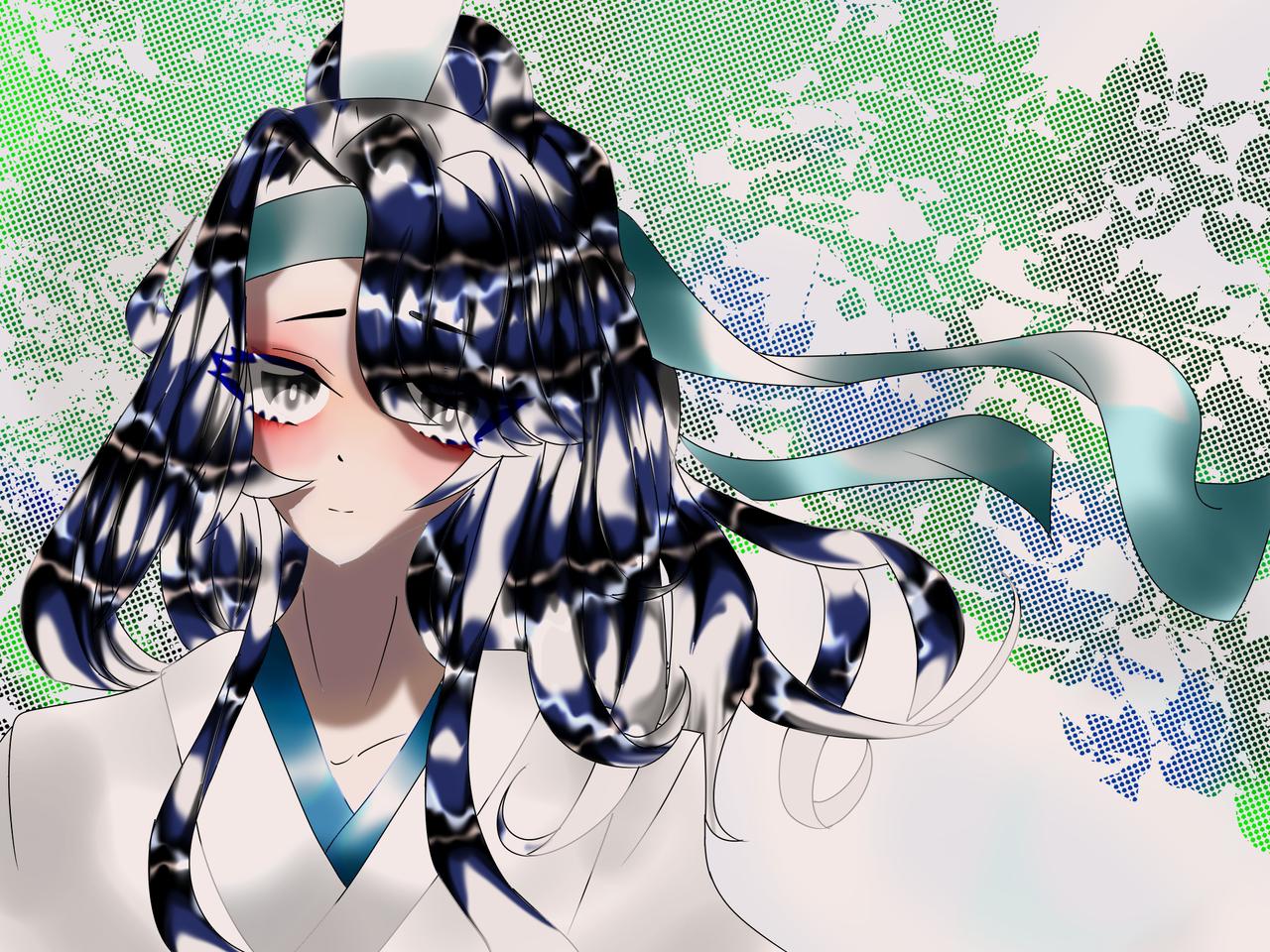 藍思追!! Illust of 如月来蕾 シニソウダオ medibangpaint 小説 MoDaoZuShi anime 藍氏