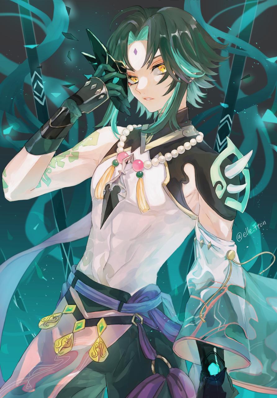 魈 Illust of エルト Xiao fanfic GenshinImpact boy 魈