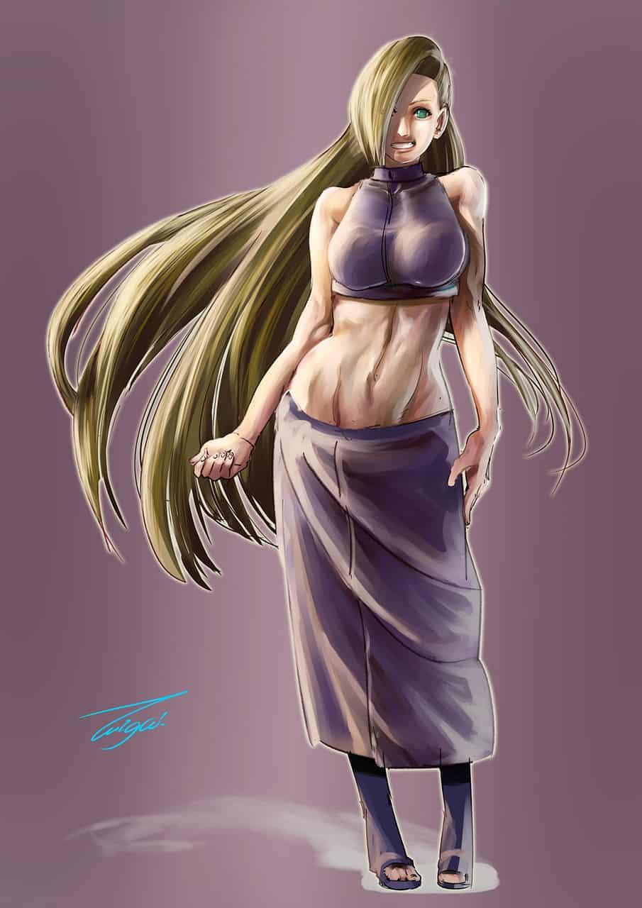 【INO】 Illust of たいが 1stjumpillust illustration fanart BORUTO NARUTO anime drawing いの digital manga