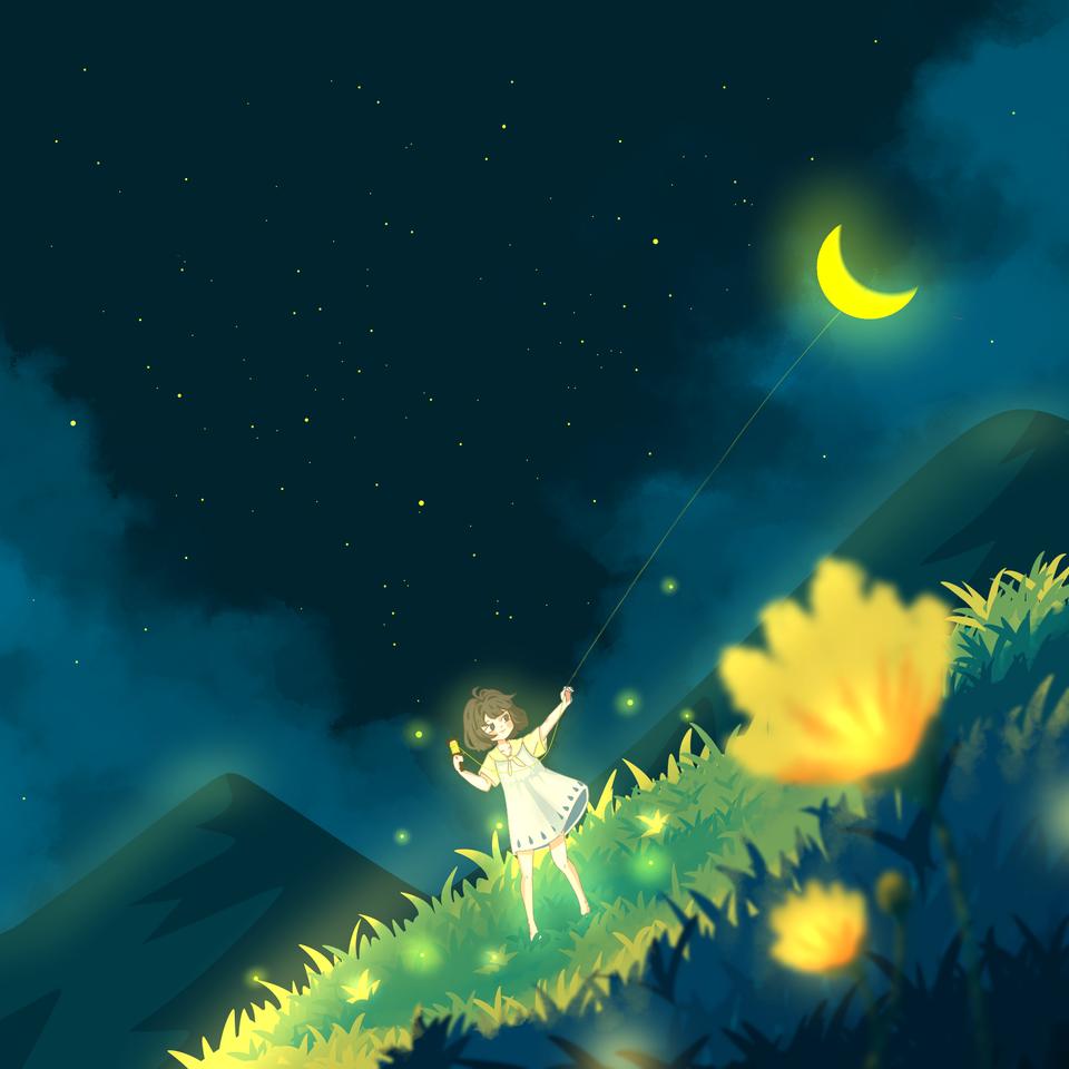 花 Illust of 郭郭郭 April2021_Flower