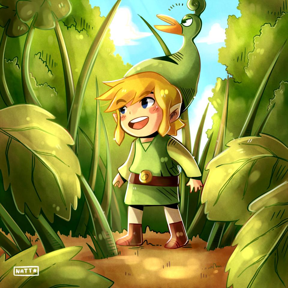 Toon Link (Fanart)