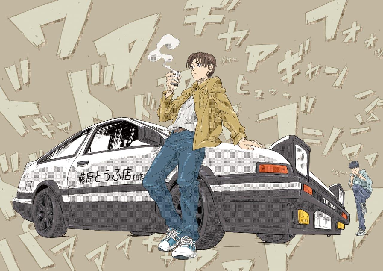 頭文字D Illust of ちーくん ハチロク 走り屋 藤原拓海 AE86 頭文字D トレノ イツキ