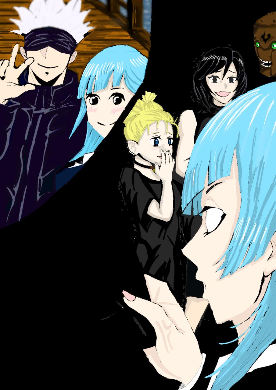 三輪は喜んでいるよナ? Illust of ボノ JujutsuKaisenFanartContest jumppaint JujutsuKaisen