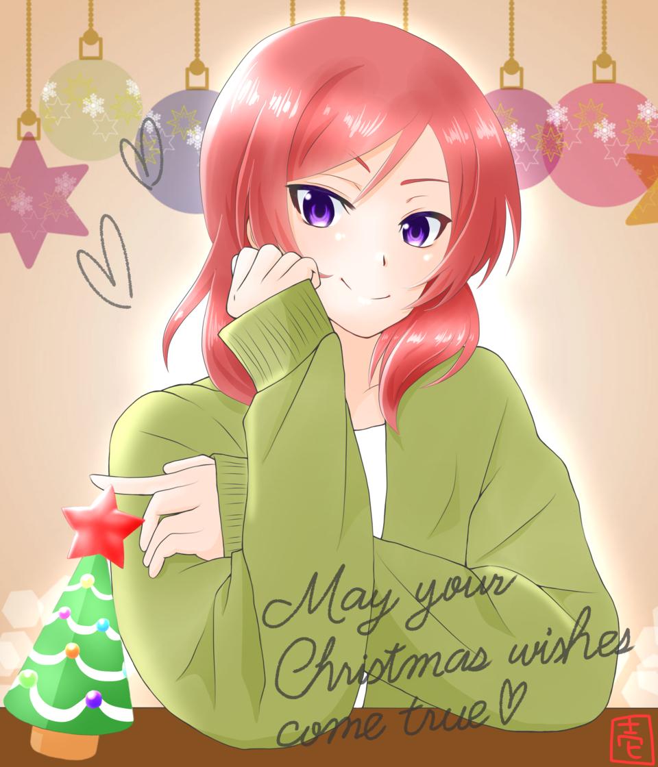 真姫ちゃんとクリスマス Illust of 壱 Christmas Love_Live! 西木野真姫
