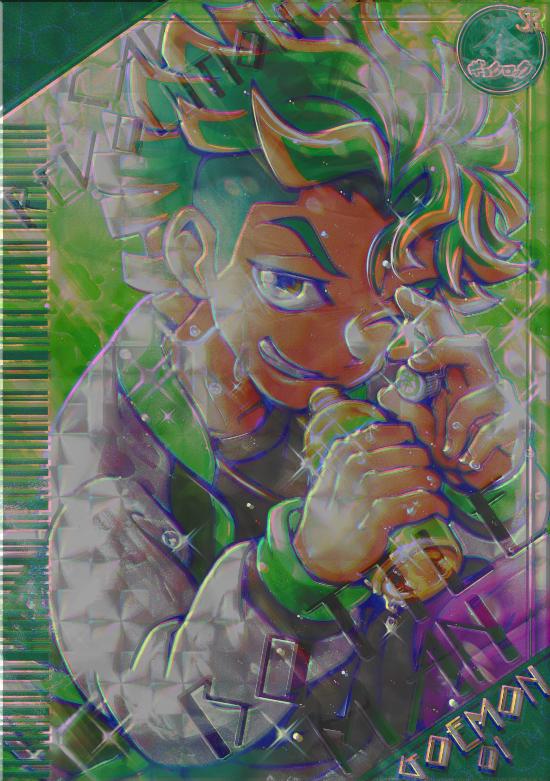ゴエモンくん Illust of kouji. green ショタ boy
