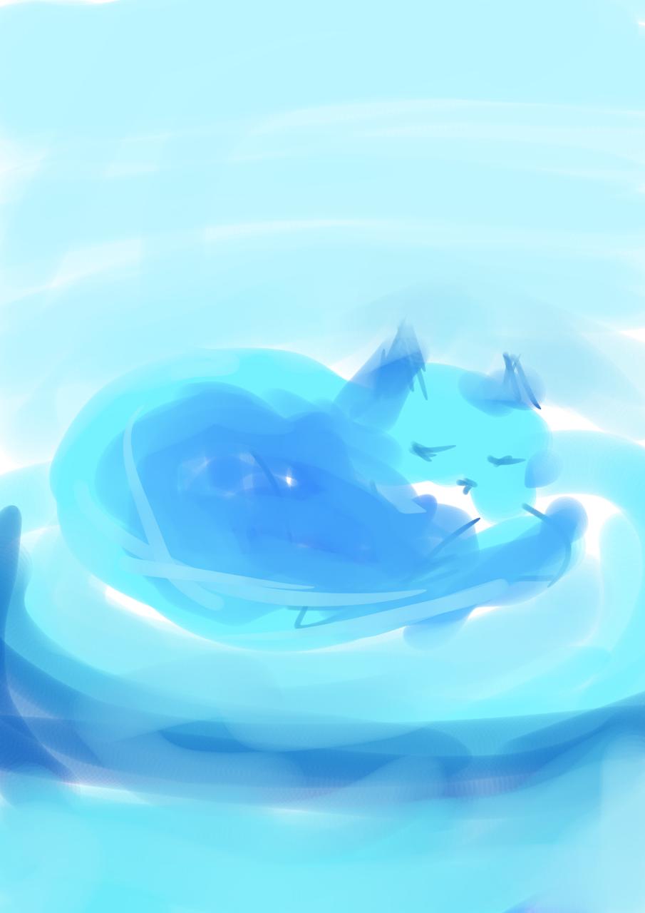 Disfrutando de un lindo sueño