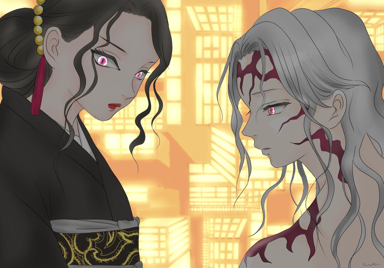 無惨 Illust of Kiki DemonSlayerFanartContest illustration 鬼滅の刃イラストコンテスト Comics KibutsujiMuzan メディバンペイント art iPad_raffle メディバン KimetsunoYaiba anime