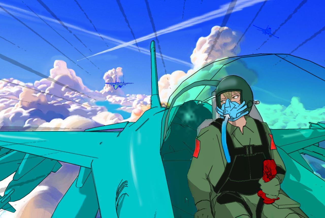 kuki no tatakai Illust of gork13gt ART_street_Illustration_Book_Contest fight character air