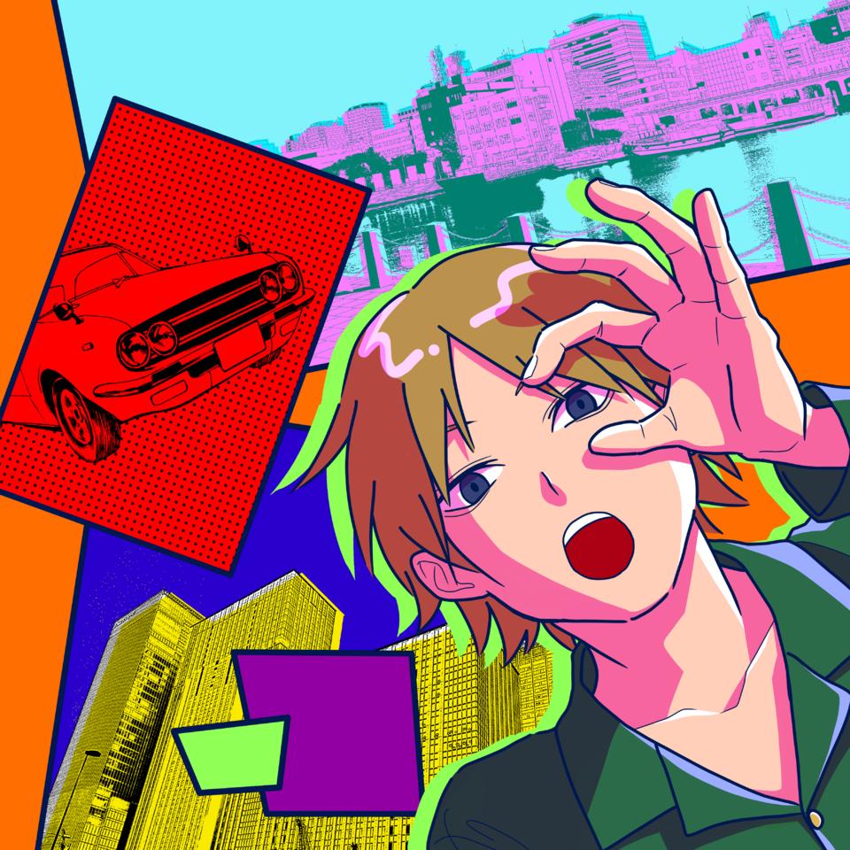 カラフル Illust of 三好 祐 Background_Image_Contest BackgroundImageContest_Using_Division