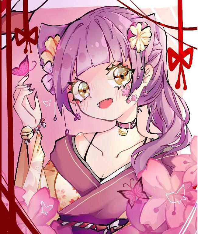 和服少女 Illust of CC medibangpaint 比赛 kimono 夜莉123