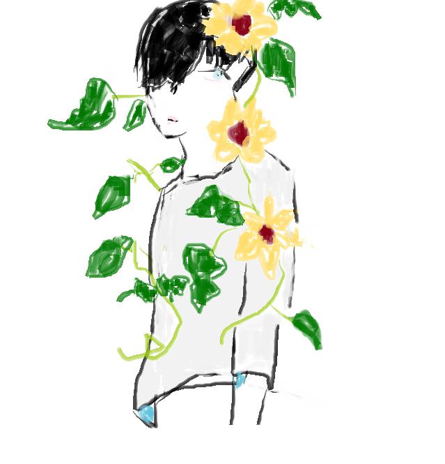 Illust of Lokerbomd April2021_Flower notmyoc