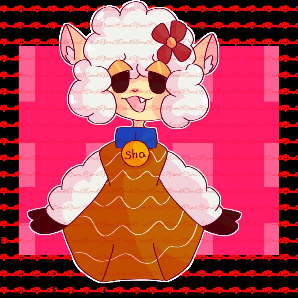 Sha the Sheep (The Walten Files) Illust of {Llyr/Wilbur} Bee•cat thewaltenfiles Bee•cat notmyoc ShatheSheep