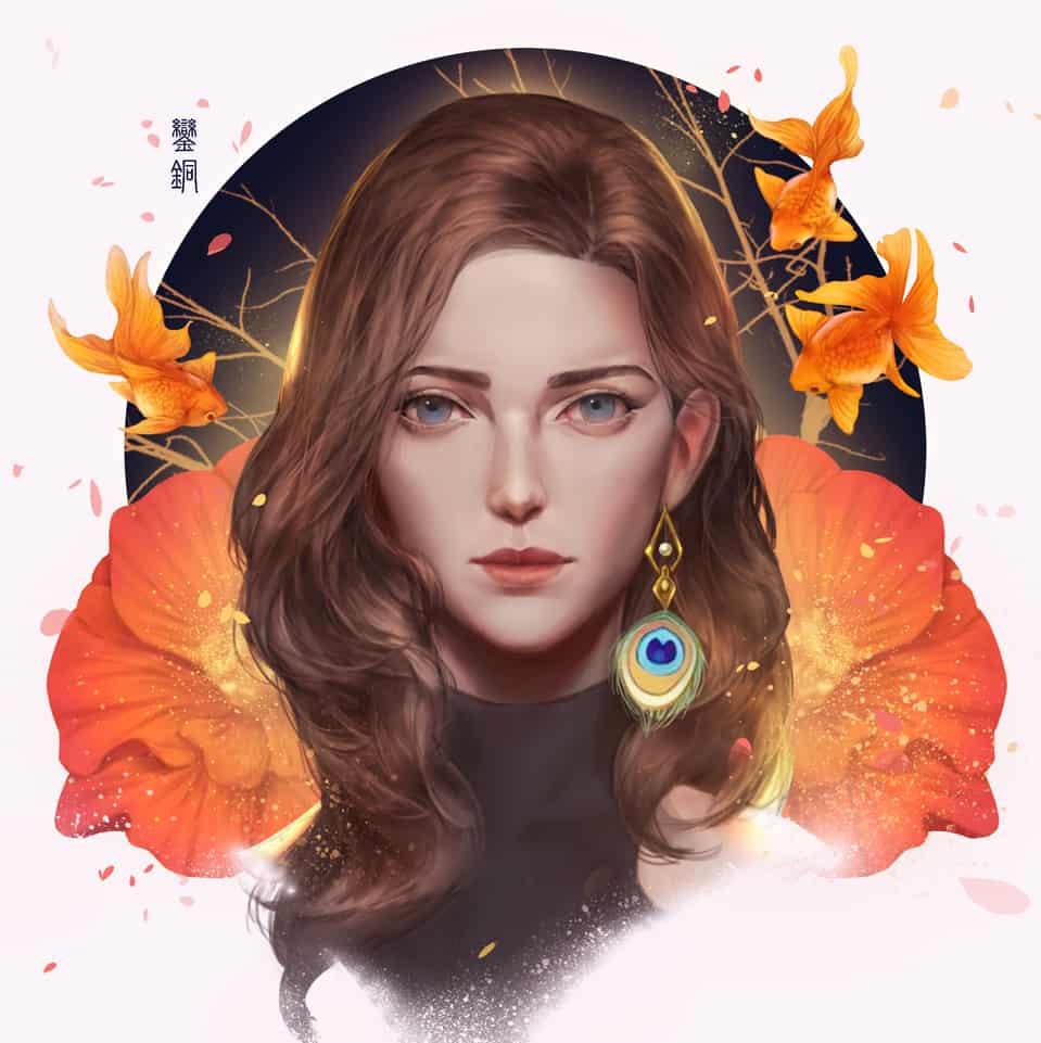 鑾銅 孔雀 Illust of Eden Chang