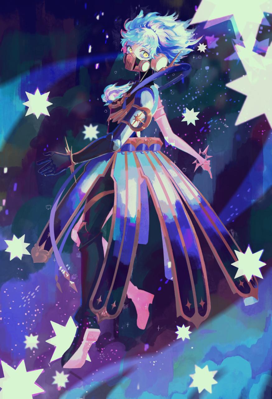 オルトに願いを Illust of 善兵衛 OrthoShroud starry_sky Twisted-Wonderland IGNIHYDE