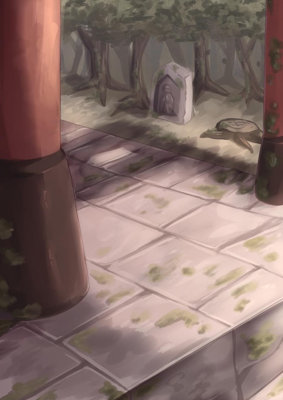 神社 Illust of もうふ medibangpaint background
