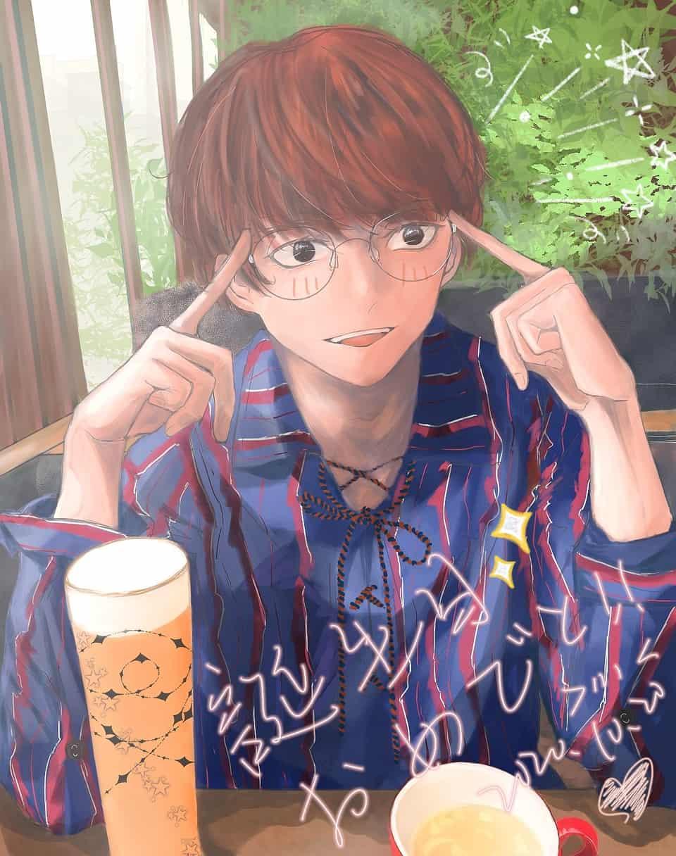 Illust of 三水亘 同人 boy portrait