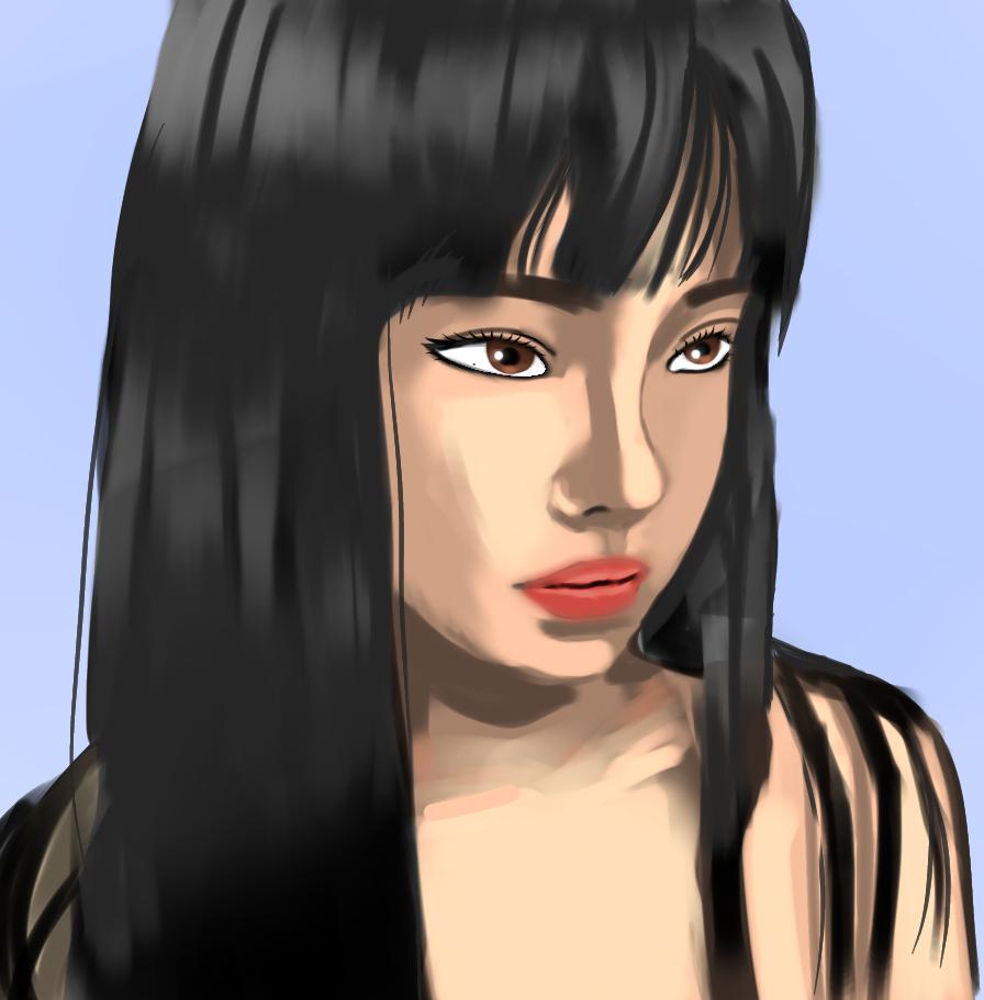 Unfinished work Illust of Allelee zen Unfinished girl harajuku tired