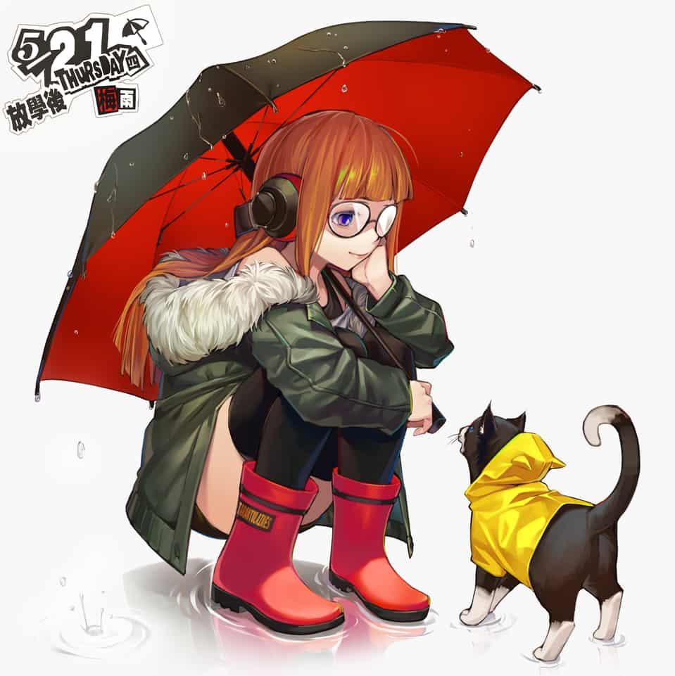 梅雨 Illust of Tarantulaines ARTstreet_Ranking Persona5 persona morgana 佐倉双葉