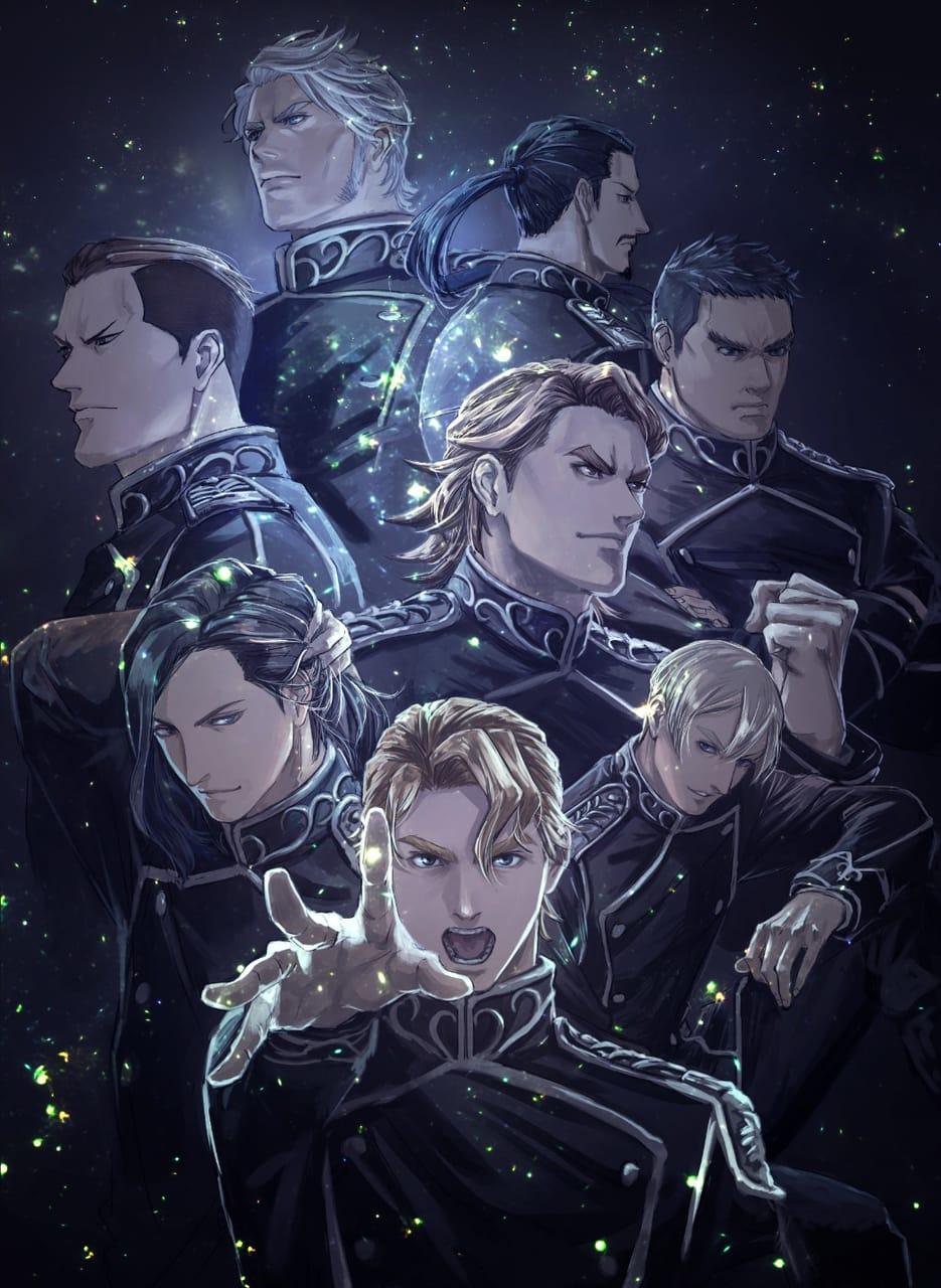 ラインハルト陣営 Illust of サン 銀河英雄伝説 銀英伝