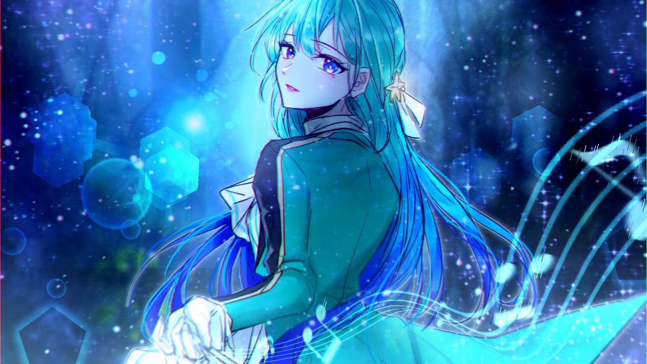 すい Illust of 그쉬 | グッシュ geuswi medibangpaint blue