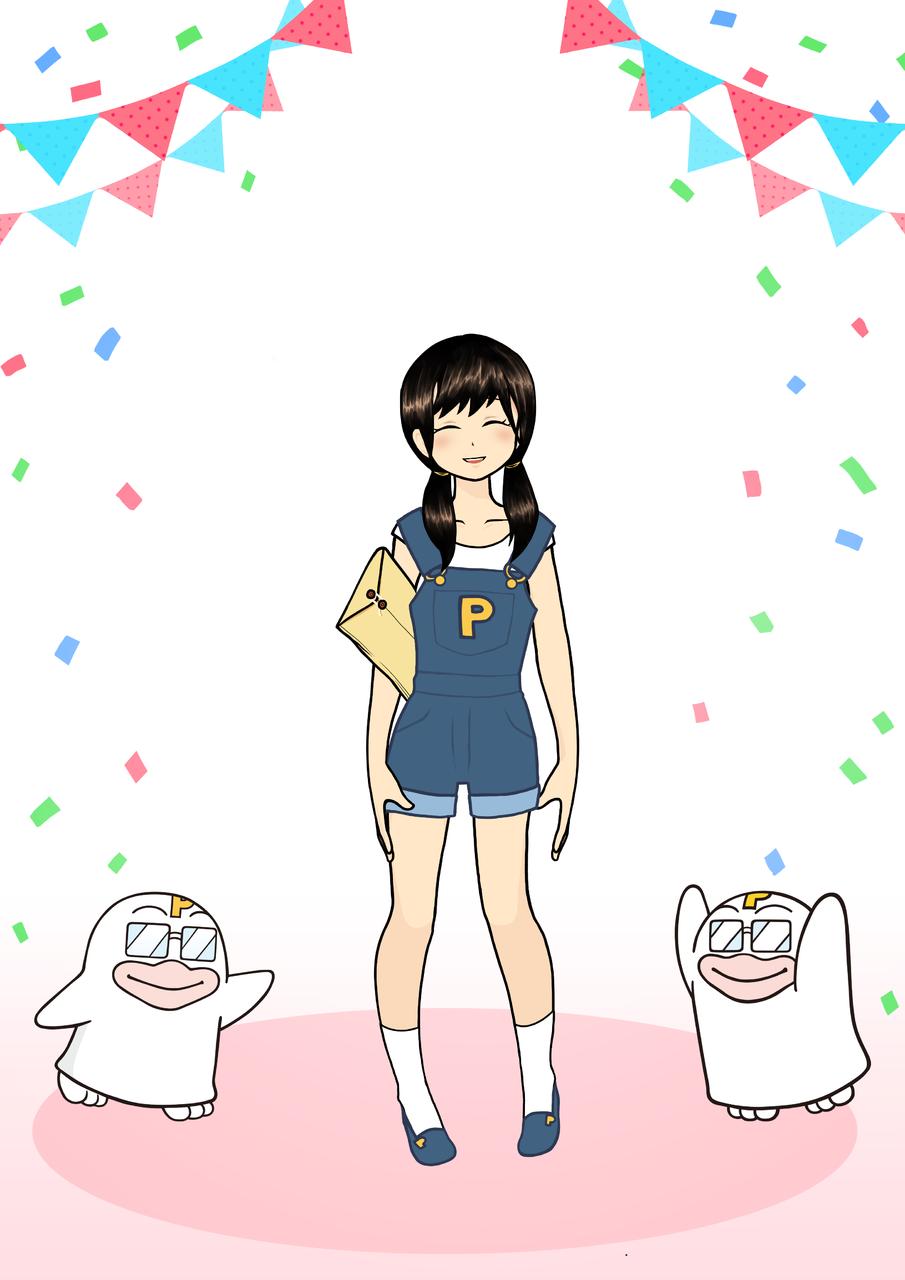 PICOQガールフレンド Illust of Natsu PICO公式キャラクターPICOQガールフレンド大募集!!コンテスト
