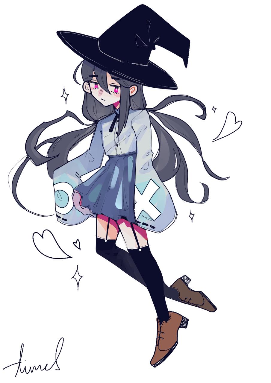 Illust of James medibangpaint witch girl