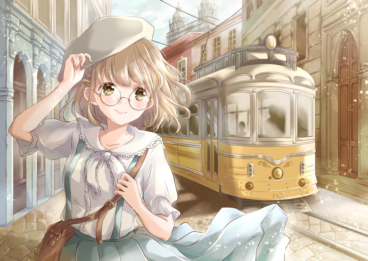 路面電車の街 Illust of 星茨まと original