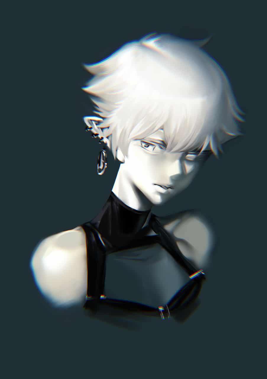白 Illust of 田黒類 original