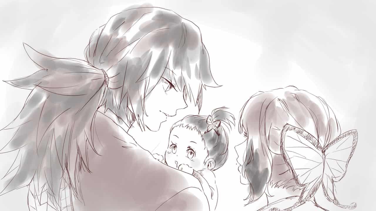Giyuu and Shinobu AU Illust of criselda_ato KimetsunoYaiba