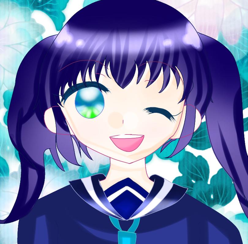 心ちゃん Illust of にこ☆ 小5#腐女子同盟 girl 不死神心 @YUTTAN色 oc