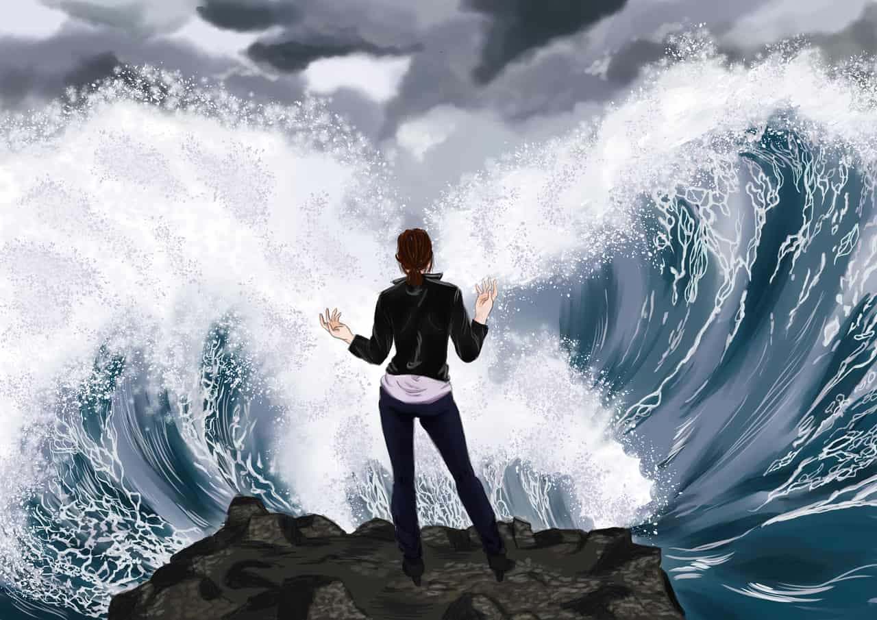 unleashed Illust of Delfe umi digital ocean