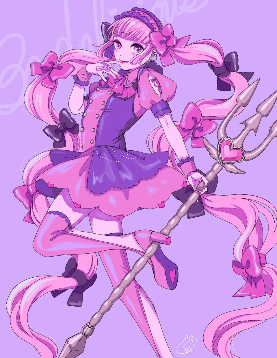 おいしくなぁれ♡ Illust of しずか oc maid ゆめかわいい illustration