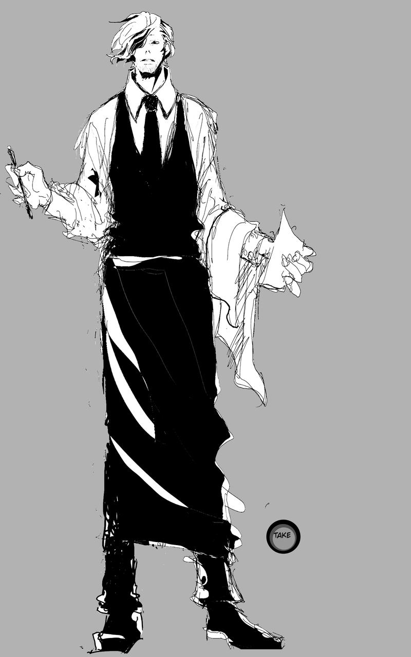 ギャルソン Illust of 竹ノコ medibangpaint