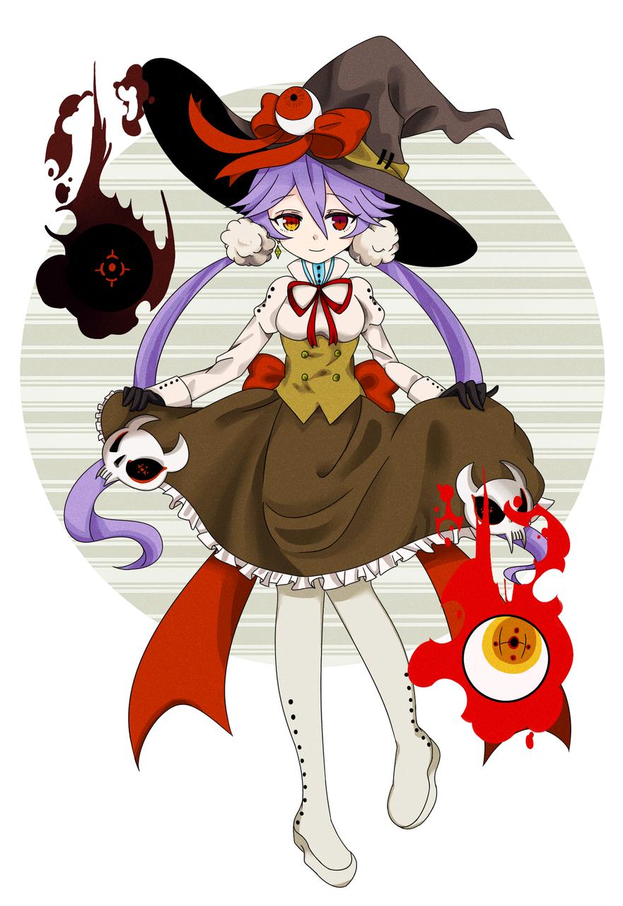 魔女的敬禮 Illust of 麻糬兔兔 ArtToPaper2017 original witch girl