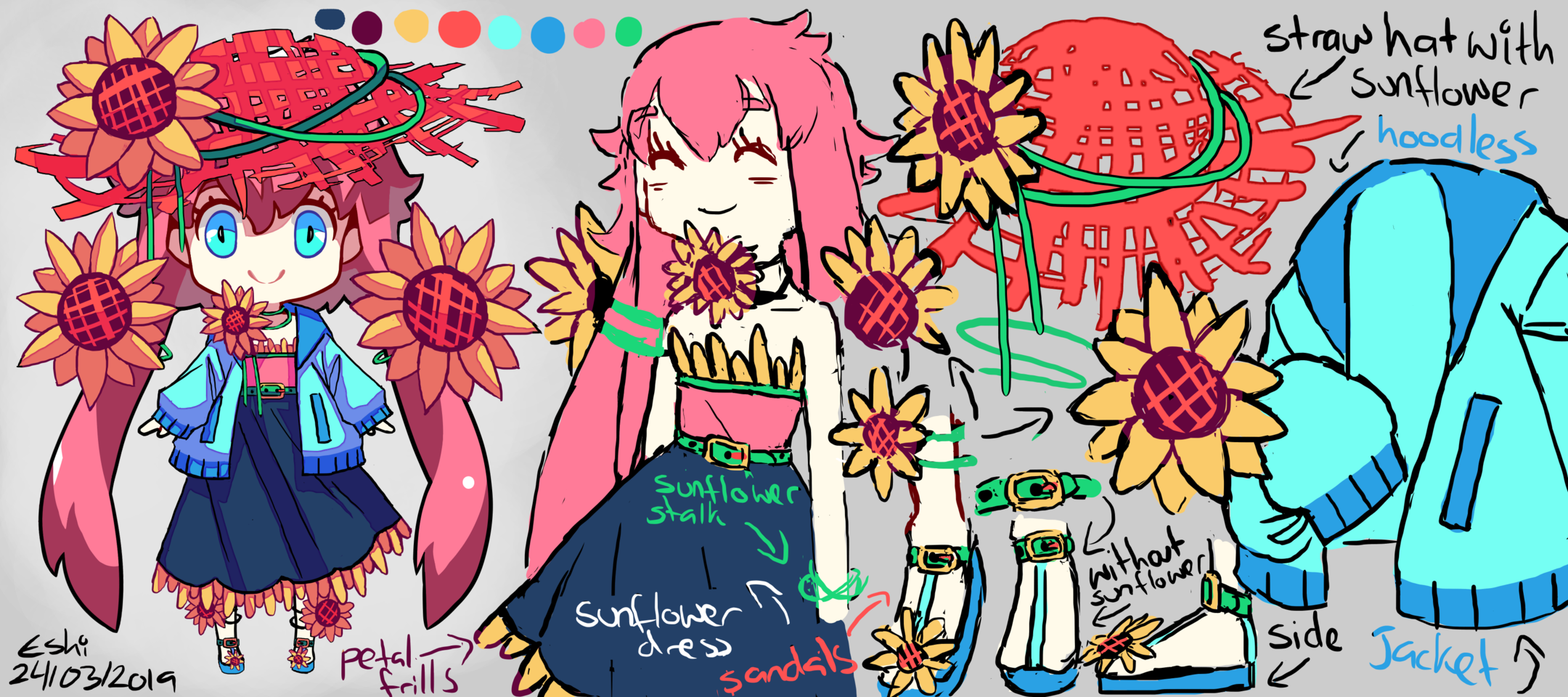 Day 448 Log 554 🌻02 Sunflowers/Eskimo