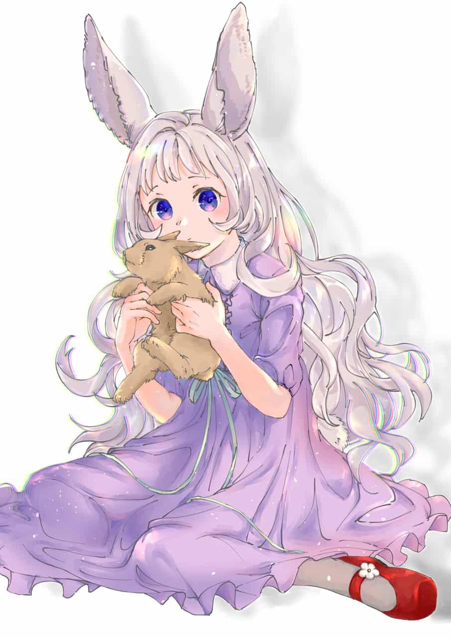 rabbit Illust of 榎嶋なこ March.2020Contest:Easter