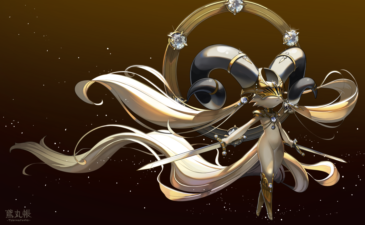 ダイヤモンド Illust of トビ丸小夏 original 獣人 擬獣化 monster 宝石 furry