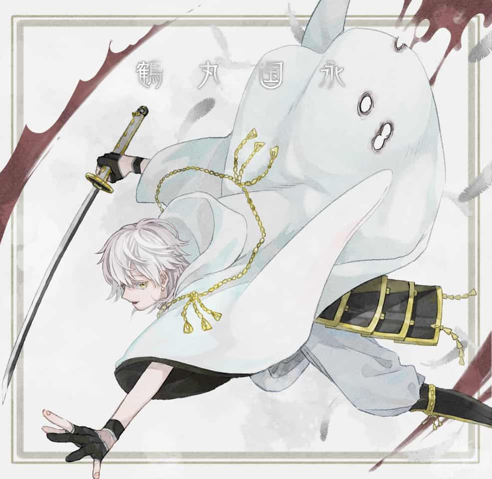 鶴丸国永 Illust of mametubu Touken_Ranbu 鶴丸国永