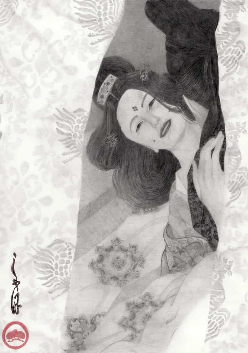 藤原薬子 - しゃぽ。 | Illustra...