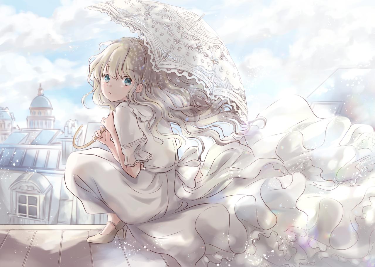日傘の季節 Illust of 星茨まと original
