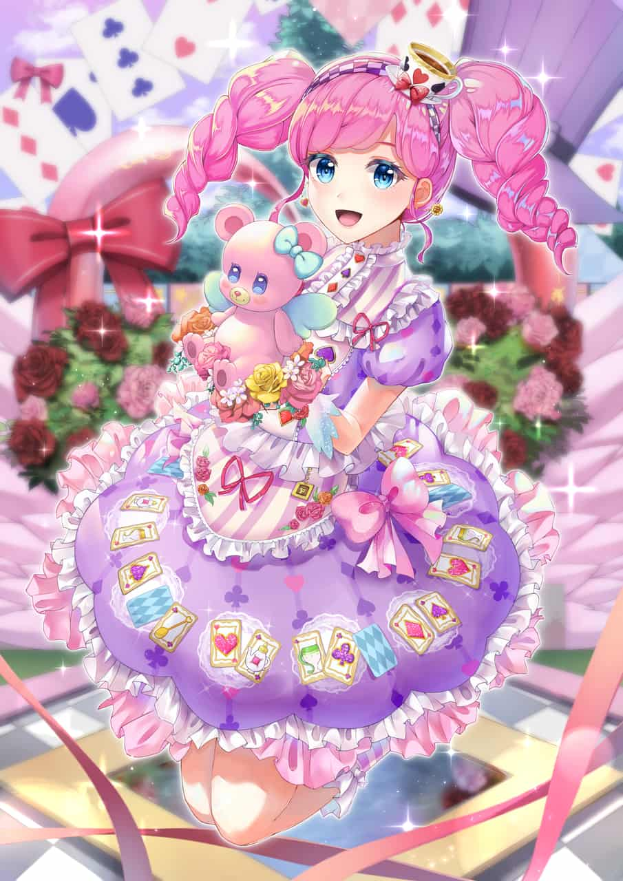 -エンジェルアリスまどかちゃん- Illust of Deco anime girl 天羽まどか Aikatsu! illustration ハローニューワールド Alice