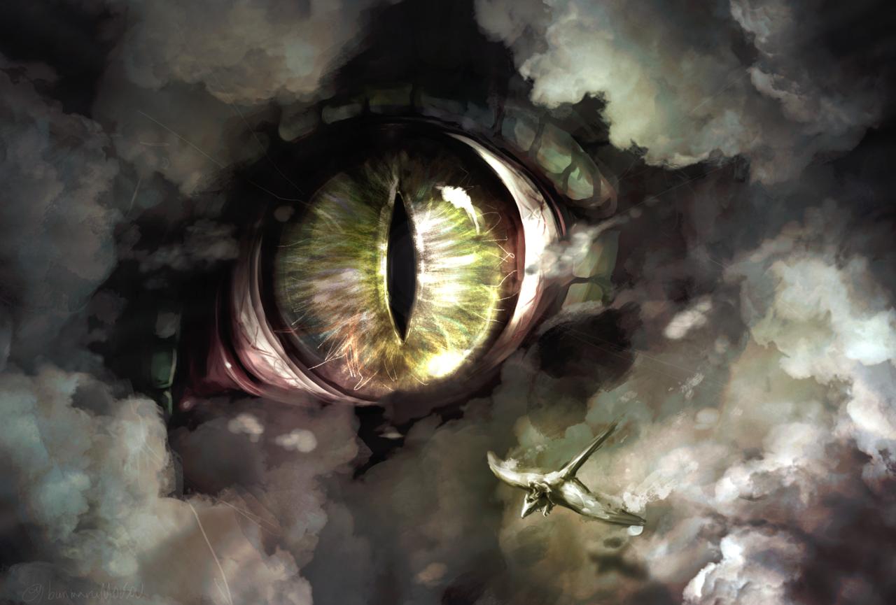 遭遇 Illust of 大怪鳥ぶんまる March2021_Creature original monster