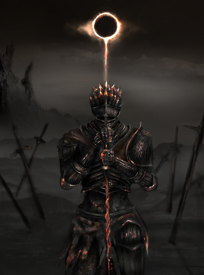 王たちの化身 Illust of wall Darksouls3 ダークソウル3